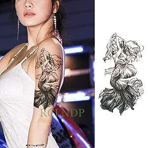 ljmljm Etiqueta engomada Impermeable del Tatuaje 5pcs Fe ...