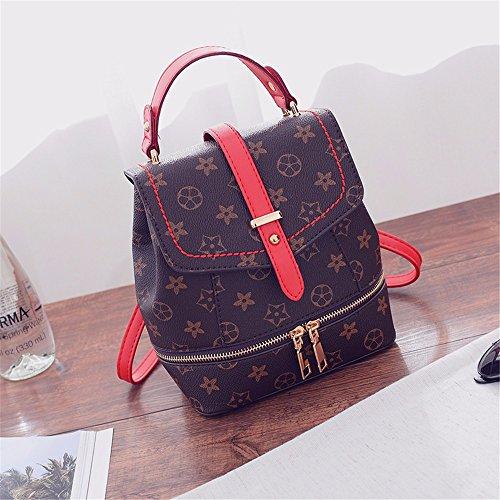 MSZYZ moda femenina, la participación de la mujer en la bolsa Mini, multiuso, casual y simple bolsa,red/b