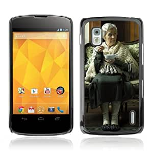YOYOSHOP [Funny Old Woman] LG Google Nexus 4 Case