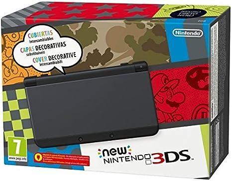 New Nintendo 3DS - Consola, Color Negro: Amazon.es: Videojuegos