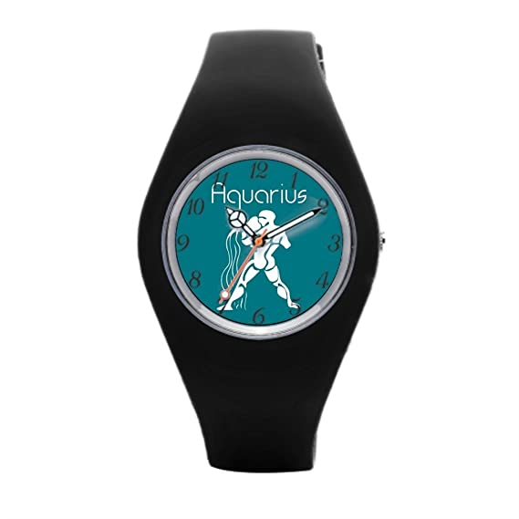 Aquarius mujeres deporte relojes Zodiac barato deportes relojes: Amazon.es: Relojes