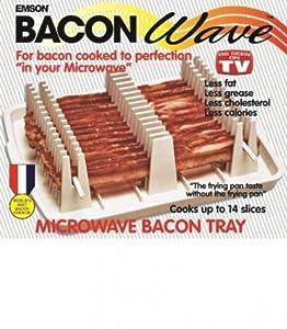 Presto Bacon Microwave Cooker, Black
