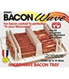 Emson Bacon Wave, Microwave Bacon Cooker, New