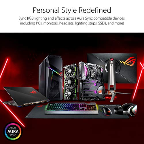 ASUS ROG STRIX GeForce RTX 2070 SUPER Advanced Overclocked 8G GDDR6 HDMI DisplayPort USB Type-C Gaming Graphics Card (ROG-STRIX-RTX-2070S-A8G-GAMING)