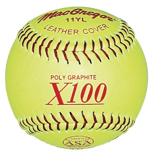 MacGregor ASA Fast Pitch Softball, 11''