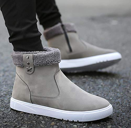 Amazon.com: HeroStore Men Winter Shoes Ankle Mens Snow Boots bota Masculina Plush Inside Antis Bottom Keep Warm Waterproof Ski Boots Botas Hombre: Kitchen & ...