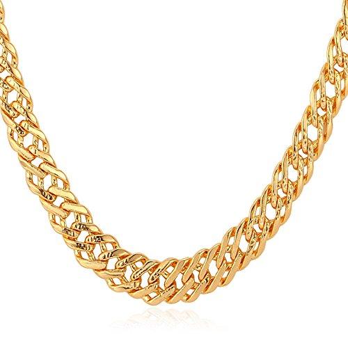 U7 Jewelry Platinum Venitian Necklace
