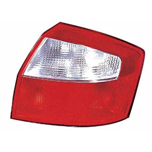 Depo 341-1916R-AS Audi A4 Passenger Side Tail Lamp Lens and Housing