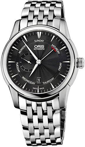 Oris-Artelier-Black-Dial-Stainless-Steel-Mens-Watch-745-7666-4054MB