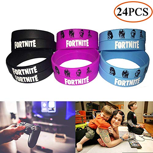Gaming Party Supplies Bracelets Party Favors - Gamer Birthday Party Packs for Kids