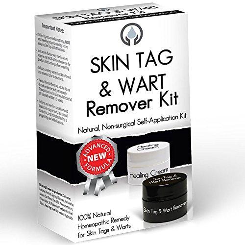 BuyNaturally Skin Tag & Wart Remover Kit (Warts Genital Wart Remover)