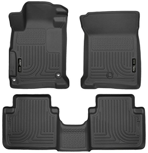 Husky Liners Front & 2nd Seat Floor Liners Fits 13-17 Accord Sedan (Honda Trunk Accord)