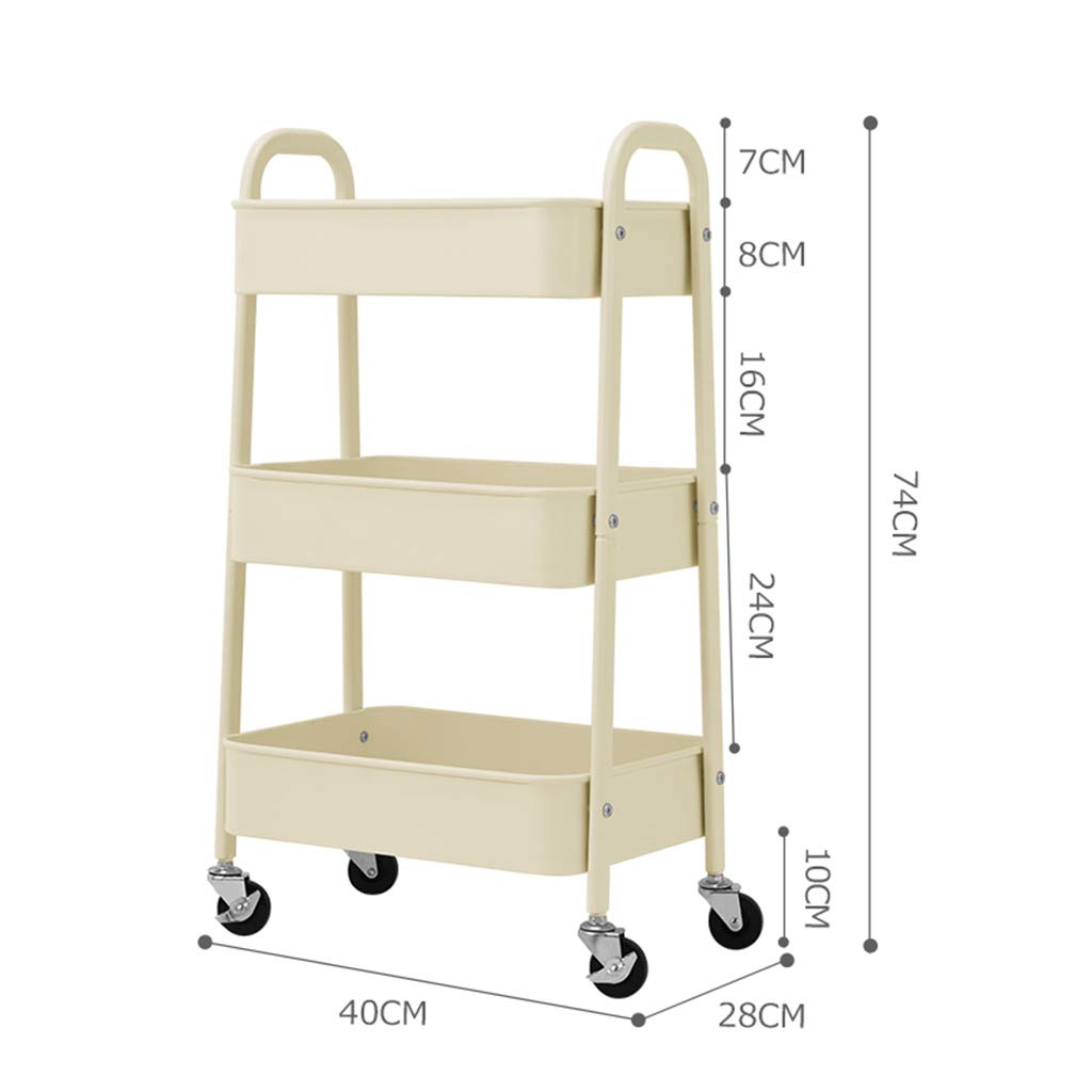 Office Trolley with Wine Rack Kitchen Serving Trolley 3 Tiers Kitchen Trolley Storage Rack Trolley Mesh Basket Standing Shelf with Wheels Serving Trolley for Home,Kitchen