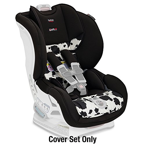 Britax Marathon ClickTight Convertible Car Seat Cover Set, Cowmooflage
