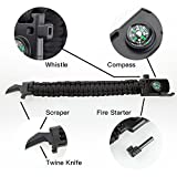 Best-Outdoor-Paracord-Survival-Bracelet-500-LB-Hiking-Travelling-Camping-Gear-Kit-Parachute-Rope-Bracelet-CompassFlint-StoneFire-SticksWhistle