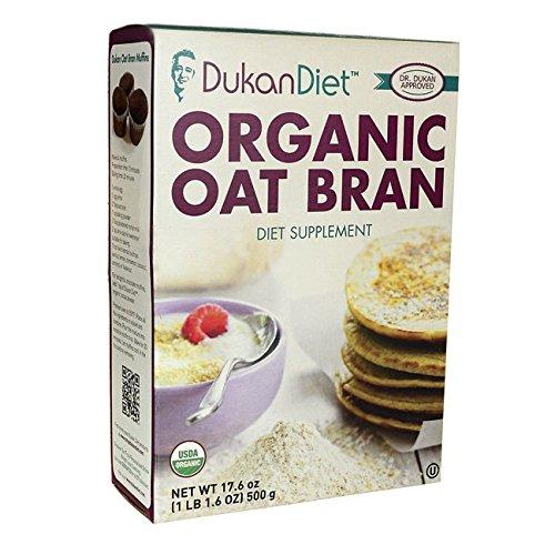 Dukan Diet Organic Oat Bran 17.6 oz Pkg (Oat Bran)