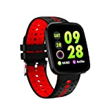 Businda Fitness Tracker Watch, Smart Watch Daily Waterproof Pedometer Activity Tracker with Heart Rate Blood Oxygen Pressure Monitor for Smartphones