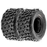 Set of 2 SunF 20x10-9 20x10x9 ATV UTV Knobby Rear Tire 4 Ply A022