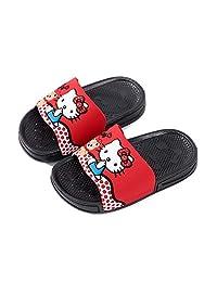 ROKIDS Kids Cute Hello Kitty Non-Slip Summer Slippers Girls