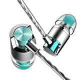 Tik-Tik Earbuds, In-Ear Metal Earphones, Stereo Bass Headphones with Mic
