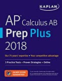 img - for AP Calculus AB Prep Plus 2018-2019: 3 Practice Tests + Study Plans + Targeted Review & Practice + Online (Kaplan Test Prep) book / textbook / text book
