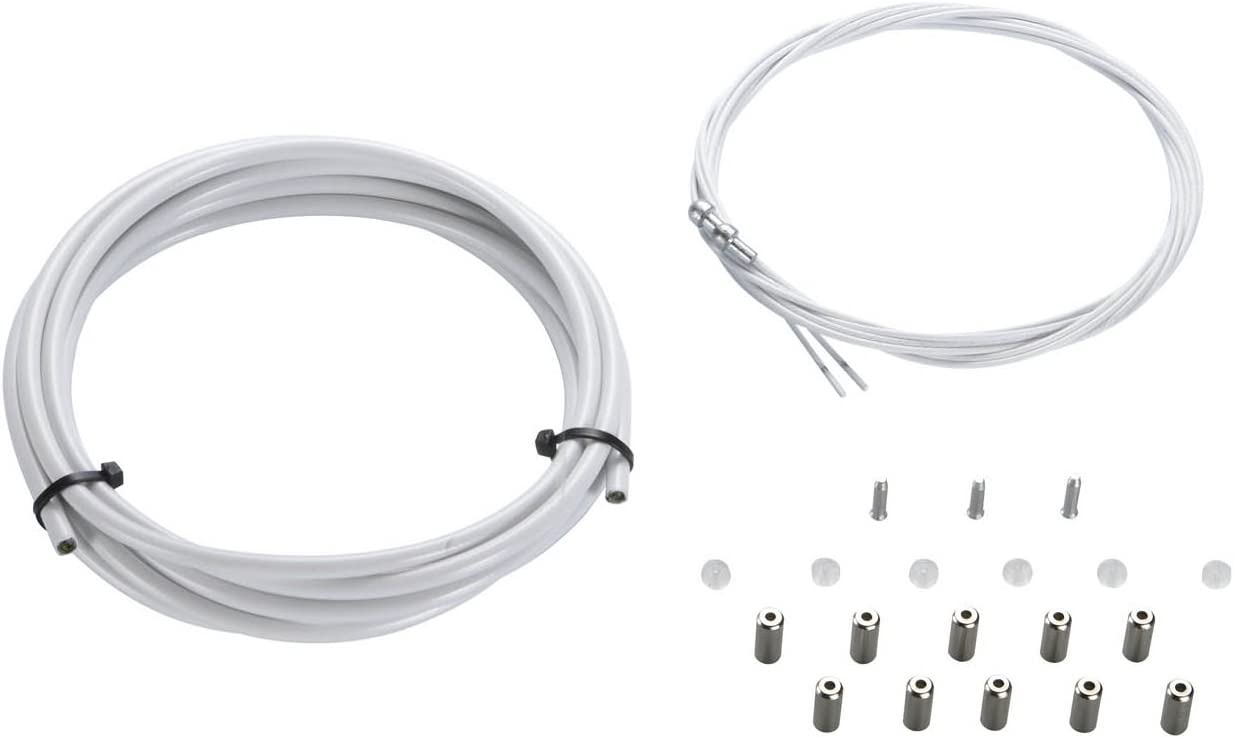 Kit de Cables y Fundas de Cambio de KCNC Blanco: Amazon.es ...