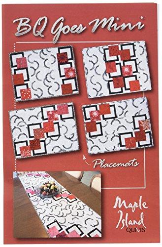 Mini Quilt Table - Maple Island Quilts BQ Goes Mini Pattern