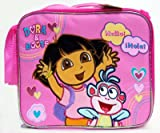 Dora The Explorer Dora and Boots Hello Hola Pink Lunch Bag, Baby & Kids Zone