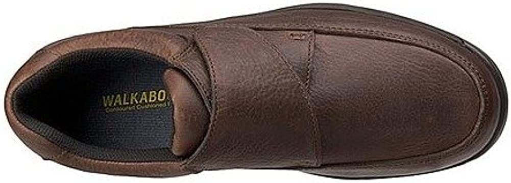 Walkabout Mens Quick Grip Walking Shoe 8.5 3E US Bark