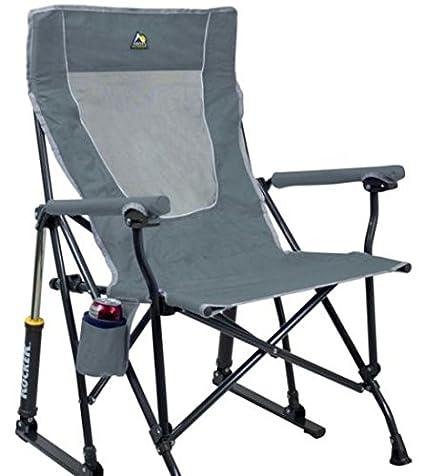 Peachy Gci Mercury Grey Outdoor Roadtrip Rocker Chair Ibusinesslaw Wood Chair Design Ideas Ibusinesslaworg