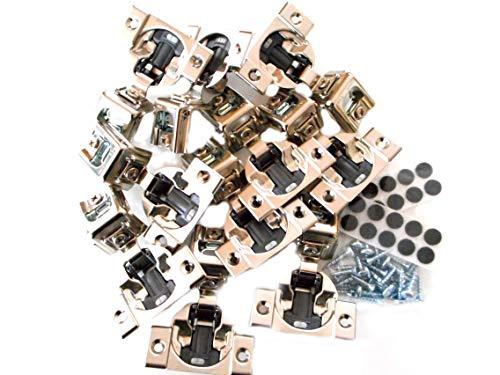 10 Pcs (Five Pairs) Soft Close Blum Blumotion Hydraulic Compact Hinge - 39C SERIES 110 deg 1 1/4 IN OVERLAY SCREW ON VERSION WITH SCREWS