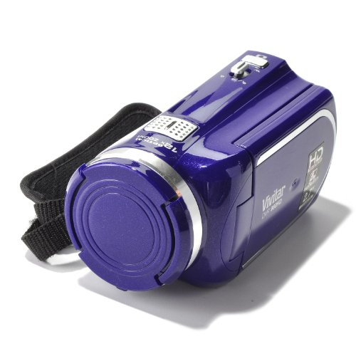 Vivitar DVR960HD 1080P Digital Video Recorder (Purple)