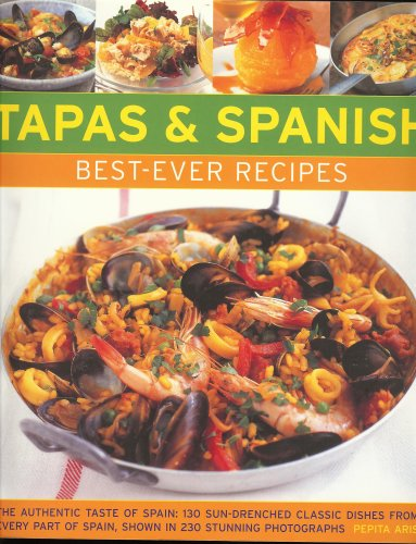 Best-Ever Recipes - Tapas and Spanish Food (IMPORT)