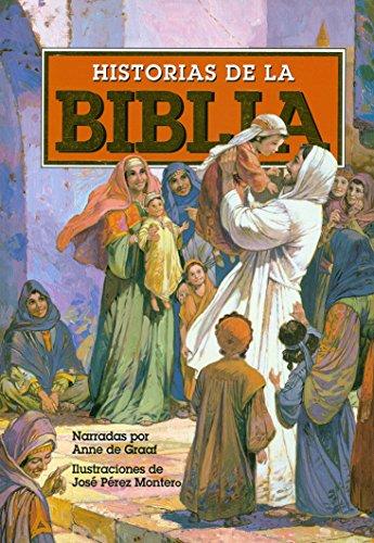 Mi Primera Historia de la Biblia Ninos Historia de la Biblia Libro para niños-Creación-Adán ... Tapa dura ilustrada (Spanish Edition)