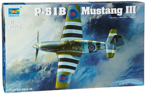 Trumpeter 1/32 Mustang III (P51B/C) RAF Fighter Model (P-51b Mustang Fighter)