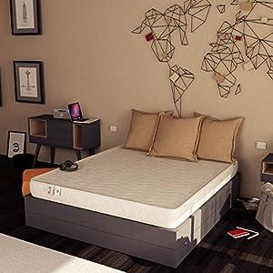 Baldiflex , Materasso Easy Altezza 18cm 140 x 190 cm, Cotone Ortopedico 6 spesavip