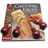 Enlow Carving Faces Workbook & Woodcarving Tool Set Caricature RAMELSON USA