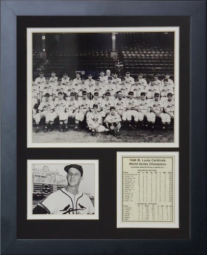 (Legends Never Die 1946 St. Louis Cardinals Framed Photo Collage, 11x14-Inch)