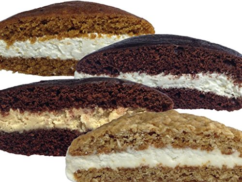 Bird-in-Hand Bake Shop Homemade Whoopie Pies, Variety Pack, Favorite Amish Food (Pack of 12) (Amish Pie Pumpkin)