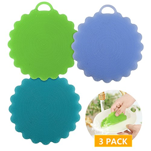 Kitchen Silicone Sponge