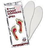 YakTrax Foot Warmer 20 Pair Box, Small/Medium