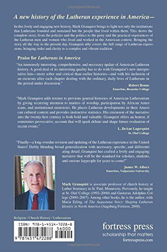 Lutherans in America: A New History