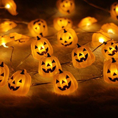 Halloween Pumpkin Battery Operated Decorations