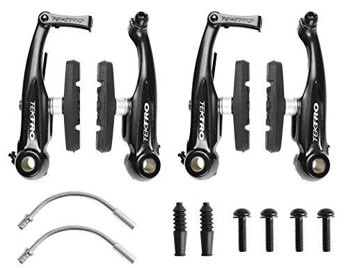 Tektro 930AL Mini V Brake Pull Front & Rear Brakes For BMX Cyclocross Road (Pull Brake)