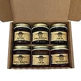 Kitchen Kettle Village Kitchen Kettle Village (Amish Made) Jam 6-pack Variety Sampler, 1.5 Oz. Jars [1 of each flavor]