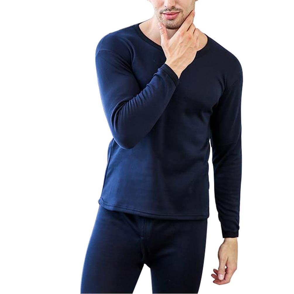 Cayuan Thermounterw/äsche Set Herren Damen Warme SAMT Gef/üttert Thermounterhemden Thermo-Unterhosen Slim Stretch Funktionsunterw/äsche