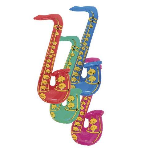 Hinchable Saxofón - Talla 76.2cm / 76.2cm: Amazon.es ...