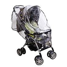 Andux Land Baby Waterproof Stroller Rain cover Wind Shield Pushchairs Weather Shield FYZ-02