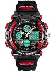 Kids Watch Yuan Ou LED Display Digital Children Watch 50M Waterproof Kids Watches Multifunction Quartz Boys Students Wristwatch