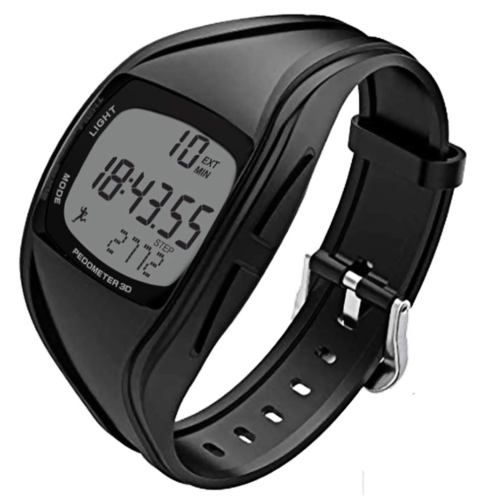 CFGem Electronic Sports Waterproof Teen Watch with Detachable PU Plastic Strap